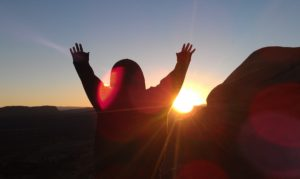Rev5 Utah Hands Raised Sunrise March 2012